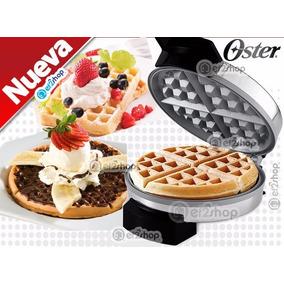 Waflera Estilo Belga Cerámica Oster Wafle Cocina Chef Postr