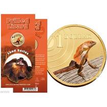 Moneda Australia 1 Dolar (2009) Lizard