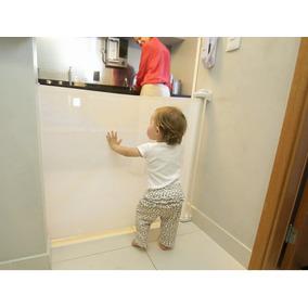 Portão De Proteção Retrátil Para Crianças Kinder Protector