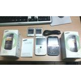 Celular Samsung Galaxy Ypro, Negro Y Blanco Impecables Caja