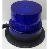 Baliza Magnetica Led Azul Policia Moto Auto Envios Gratis !!