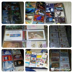 Cartões Telefônicos, Conservados, Contendo 10 Mil Cartões.