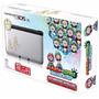Nintendo 3ds Xl Edición Mario & Luigi Plateada + 4 Juegos