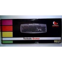 Teclado Gamer Ps2 Multimídia 0504 Leadership @