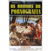 Cartaz Cinema Original Filme As Rainhas Da Pornografia 1984