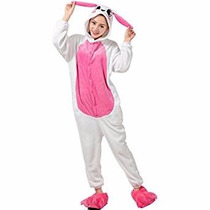 Pijama Disfraz Conejo Kigurumi Kawaii