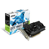 Tarjeta De Video Msi Gtx750 Ti 2gb Ddr5