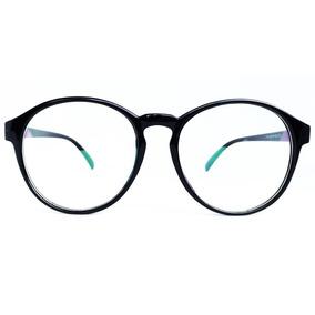 Armação Óculos Redondo Vintage Unissex - Várias Cores