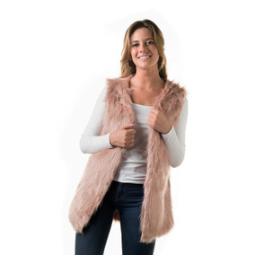 Campera Chaleco 2 Rosa Xl Extra Large