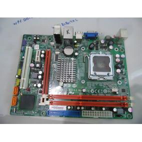Placa-mãe Para Pc Desktop 775 Ddr3 Ecs 15-r92-011010 G41t-r3