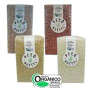 Mix 4 Tipos De Arroz Orgânico Vero Nuttri