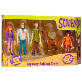 Scooby Doo Set 5 Figuras Articuladas - Giro Didáctico