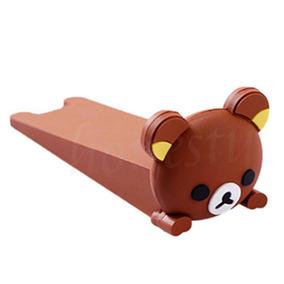 Protetor Aparador Peso Segura Porta Divertido Ursinho Lindo