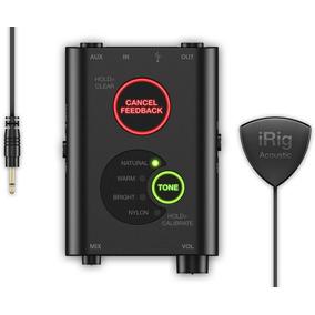 Irig Acoustic Stage - Microfone Para Violão Pré-amplificador