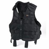 Chaleco Lowepro Deluxe Vest (s/m) Black Para Canon Nikon