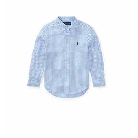 Camisa Social Infantil Ralph Lauren - Camisa Social no Mercado Livre ... c300fba6a43