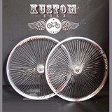 Roda 144 Raios Bicicleta Lowrider Lowbike Low Custom Vintage
