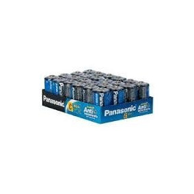 Pilas Panasonic Ultra Hyper Medianas Tamaño C Caja 24 Unid