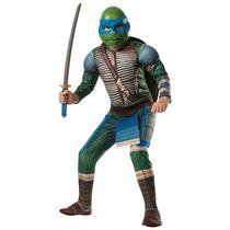 Excelente Disfraz Infantil Importado Leonardo Tortugas Ninja