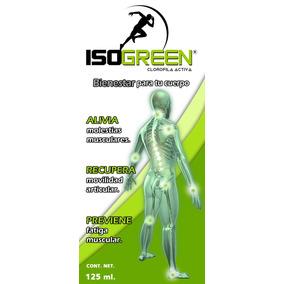 Isogreen Alivio Eficaz Del Dolor Articular Y Muscular.