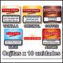 Cigarros Cafe Creme Lata X 10 Varios Sabores Local Microcent