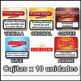 Cigarros Cafe Creme Lata X 10 Varios Sabores Local Microcent