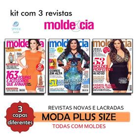 Revistas Moda Plus Size Molde Tamanho Grande Corte Costura