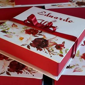 15 Caixas Convite Para Padrinhos Debutante Casamento 15x15x7