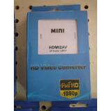 Mini Adaptador Convertidor Hdmi A Rca Av Audio Video