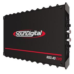 Novo Modulo Amplificador Evo Sd800.4 Linha 2018 800w Rms