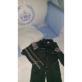 Farda Infantil Polícia Militar,saída De Maternidade