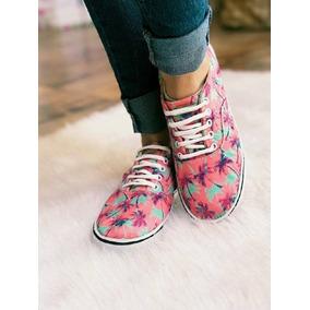 Zapatillas Urbanas Mujer Huarapa Emily Palmeritas