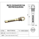 Bico Dosador Silicone Torneira Refresqueira Begel - Bras