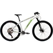Bicicleta Absolute 12v Wild 29 Prata/verde Trava No Guidão