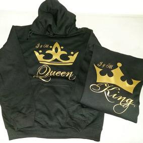 Sudaderas King Y Queen Enamorados, Mejores Amigos C/capucha