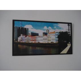 Quadro Placa Decor 34x24cm * Recife Antigo * Frete Grátis