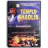 Dvd Templo De Shaolin Original Kung Fu Traição Vingança 1973