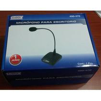 Micrófono Profesional De Pedestal Radox