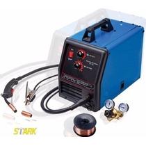 Maquina De Microalambre Mig 135amp 110v Gas Con Accesorios