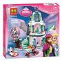 Castillo Frozen De Hielo, Elsa, Ana, Olaf, Mod Lego Alterno