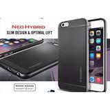 Case Protector Funda Dikuka Neohybrid Plateado Iphone 6 / 6s