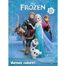 Livro Disney - Vamos Colorir - Frozen