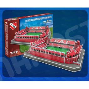 Estadio Independiente Puzzle 3d Libertadores De America!
