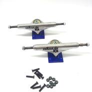 Truck Skate Stronger 149mm Central Vazado+parafusos De Base
