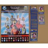 Torneo Inicial 2012 - 2013 Album Completo Figuritas A Pegar