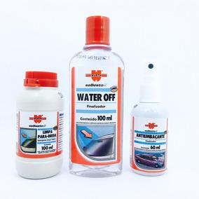 Water Off Wurth + Anti Embaçante + Limpa Para Brisa