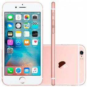 Iphone 6s Apple 64gb Ouro Rose Tela Retina Hd 4,7 Ios 9 4g E