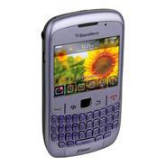 Celular Blackberry Modelo 8520 Lila Pim Activo Ultimos E/g