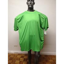 Talle Especial - 4x - Remera Polyester Dri-power-gordos