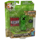 Minecraft Overworld Figuras Steve Creeper Enderman Original